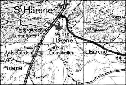 The Area around Södra Härene
